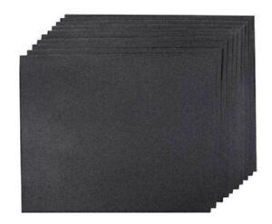 10 Pack Wet Dry Emery Paper Sheet Sandpaper Grit 120 180 240 320 400 600 1200