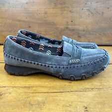 Skechers Womens Relaxed Fit Bikers-Penny Lane Loafers Size 8 Moc Chocolate Brown