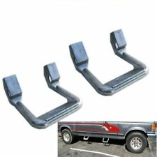 2PCS Universal Fit For Truck/SUV/Pickup Silver Aluminum Side Step Nerf Bars