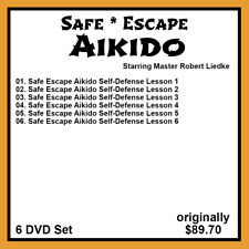Robert Liedke's Safe Escape Aikido Series (6 DVD Set)