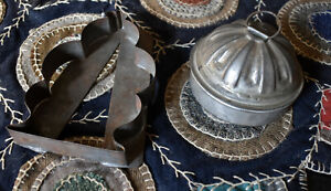 Antique Cookie Cutter & Small Kreamer Mold *