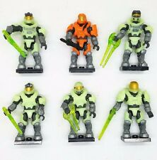 6pcs Mega Blocks Halo 97514 LAST MAN STANDING ZOMBIE PACK NEW No box M64