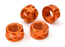C26781ORANGE 17mm Hex Wheel Nut(4)for 1/8 Buggy, Truggy, SC & Monster Truck