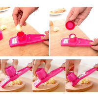 Kitchen Multi-functional Grinding  Garlic Press Gadgets  Cutter Tool