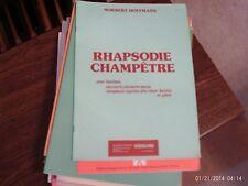 Norbert Hoffmann: Rhapsodie Champetre,  oboe /  piano  (Scherzando)