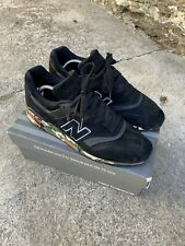 New Balance 997 CMO Black Camouflage Trainers Rare Size UK 9 With Box