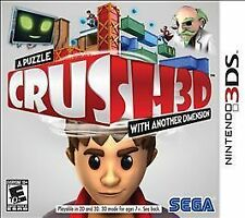 Crush3D -  Nintendo 3DS BRAND NEW & SEALED!!
