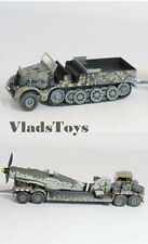 War Master 1:72 German Sd.Kfz.9 Half-Track w/Fw 190 Fuselage on Trailer S7200201