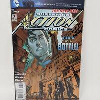 Action Comics #7A ( 2011-2016 ) DC Comic Book VF/NM