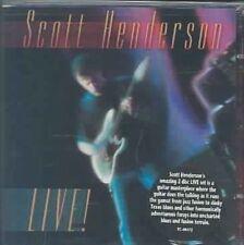 Scott Henderson - Live - CD
