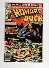 Howard the Duck #15 1st Doctor Bong low grade Marvel Bronze key $1 start!