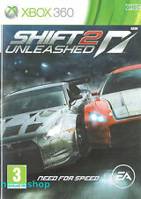 Need for Speed Shift 2 Unleashed Microsoft Xbox 360 3+ Racing Game