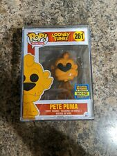 Funko Pop! Looney Tunes Pete Puma #261 SDCC LE 1000 Pieces New With Pop Stacks