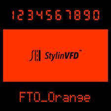 VFD Display Color Filter<Orange>For vintage Calculator CASIO,OMRON,BRAUN & more~