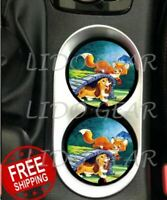 Disney FOX AND THE HOUND Disney Up Car Coasters Disney Inspired Car Coasters