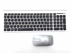 IBM Lenovo Wireless Keyboard & Mouse Set Slim Kit UK English SK-8861 Free Ship