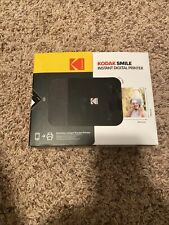 KODAK Smile Instant Digital Printer – Mini Printer Black Sealed New