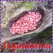 1000 Perles Bois Grain de riz 7 mm +/-