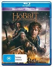 Hobbit The - Battle Of The Five Armies (Blu-ray, 2015, 2-Disc Set)