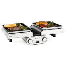 Grill de table électrique multifonction barbecue horizontal & vertical 1200W