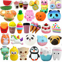 Compress Scented Charm Squeeze Slow Rising Stress Relief Fun Kids Toy Collection