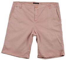 Marc O'Polo Herren Bermuda Shorts Elfenbein Baumwolle Tasche Knopf Zip Größe 44