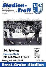 RL 1998/99 1. FC Magdeburg - FC Rot-Weiß Erfurt, 05.03.1999