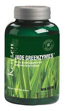 NEW - Nikken Kenzen Jade GreenZymes Organic Barley Grass Capsules