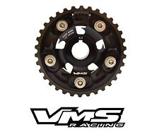 VMS RACING BLACK ADJUSTABLE CAM GEAR FOR 92-95 HONDA CIVIC D15 D16 SOHC
