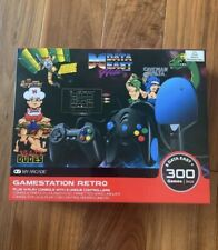 Data East Gamestation Retro Plug And Play Console 300 Games 3 Controllers NEW