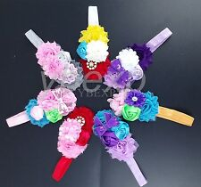 7-Pack New 2015 Newborn Flower Headband Baby Girl Headwear Kid Hair Accessories