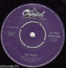 THE KINGSTON TRIO Tom Dooley / Ruby Red 45