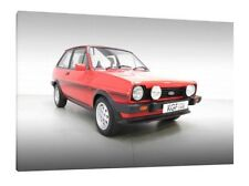 MK1 Ford Fiesta XR2 - 30x20 Inch Canvas Art - Framed Picture Print Classic