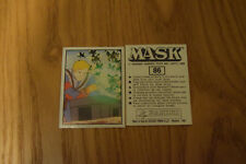 Mask Panini sticker 1986 ( M.A.S.K.  Kenner parker toys ) number 86