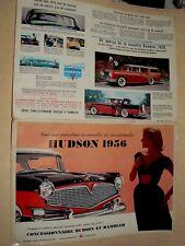 Grand Catalogue HUDSON RAMBLER 1956   brochure prospectus car prospekt auto