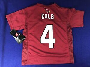 NFL Team Apparel Arizona Cardinals #4 Kevin Kolb Kids Jersey - Sz. M (5-6) - NWT