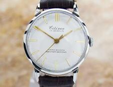 Citizen Parashock Centre Seconds Made in Japan Authentic Watch Circa 1950 SCX404