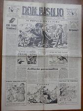 DON BASILIO 13 Marzo 1949 Padre Lombardi Gaetano Marzotto Lattanzio Veroni di e