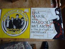"Chiefs Of Relief + Malcolm McLaren 2 12"" EPs Sex Pistols related Paul Cook"
