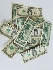 ONE $20  TWENTY DOLLAR BILL OLD CURRENCY SMALL HEADS