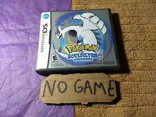 Pokemon SoulSilver Version Nintendo DS - Case, No Game, No Manual