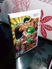 Punch-Out (Nintendo Wii, 2009) Complete