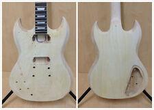 E-240DIY Left-Handed SG Electric guitar DIY KIT,Set Neck, No-Solder + Free Tuner