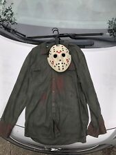 Jason Voorhees Part 3 Mask And  Shirt Included 2pc High Qual (Read Discription)