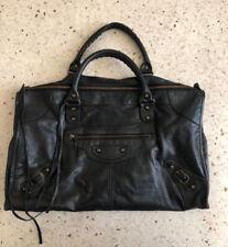 Authentic Balenciaga Classic Hardware Black City Bag