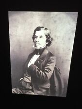 "Gaspard Nadar ""Portrait Of Delacroix 1858"" 35mm Early French Photography Slide"