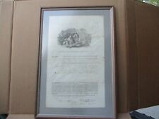 Vintage Aetna insurance  policy 1822