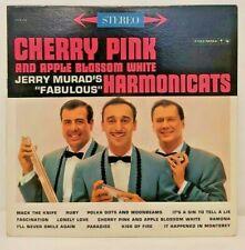 Cherry Pink Apple Blossom White Jerry Murad Fabulous Harmonicats Record Album LP