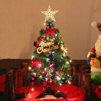 Multicolor LED Christmas Tree Ornaments Xmas Holiday Window Office Home Decor UK