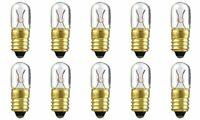 CEC Industries #46 Bulbs, 6.3 V, 1.575 W, E10 Base, T-3.25 shape (Box of 10)
